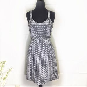 Anthropologie Postmark Nautical Design Dress